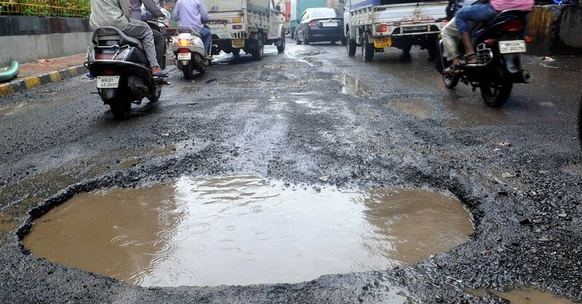 The Potholes Problem In India